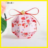 歐式幸福之鈴糖盒100只裝 結婚喜糖盒子 生日 滿月【櫻花本鋪】