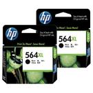 【二黑組合】HP NO.564XL 564XL 黑色 原廠墨水匣 盒裝 適用3070A 4620 5520