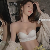 調整型無肩帶內衣女小胸聚攏防滑無鋼圈性感美背抹胸bra隱形文胸【貼身日記】