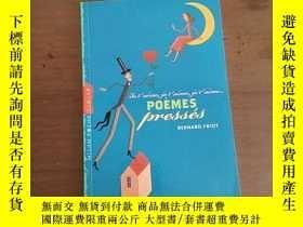 二手書博民逛書店Poemes罕見presses: Je t aime, je t