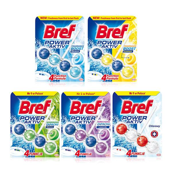 德國 Bref 馬桶強力清潔芳香球 除菌 50g ◆86小舖 ◆
