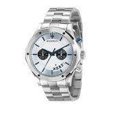 【Maserati 瑪莎拉蒂】/兩眼設計鋼帶錶(男錶 女錶 Watch)/R8873627005/台灣總代理原廠公司貨兩年保固