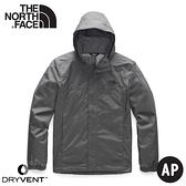 【The North Face 男 DV防水保暖外套《瀝青灰》】4U5F/衝鋒衣/防水外套/風雨衣
