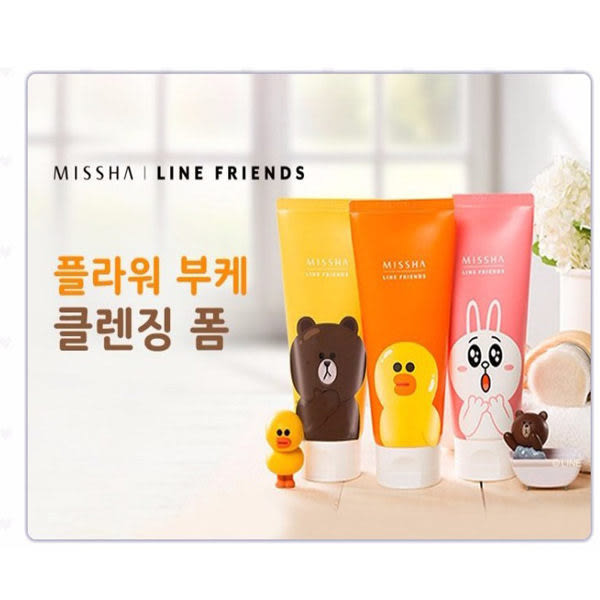 韓國 MISSHA x LINE FRIENDS 潔面乳 150ml