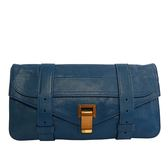 【PROENZA SCHOULER】小羊皮 手拿包 (寶藍色) H00001 L001B 5017