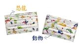 【3盒優惠組】永猷兒童醫療用口罩(未滅菌),(恐龍、動物造型)