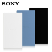 [富廉網] 【SONY】二次鋰離子10000mAh 行動電源 CP-V10B 白/藍/黑