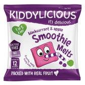 Kiddylicous 童之味 黑醋栗蘋果水果溶溶果泥塊6g (12個月以上)