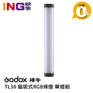 【24期0利率】GODOX TL30 磁吸式RGB條燈 開年公司貨 單燈組 光棒 補光燈 彩色燈管 LED燈