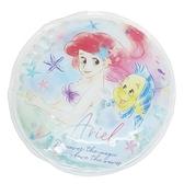 小禮堂 迪士尼 小美人魚 圓形保冷劑 (藍側身款) 4548626-14314