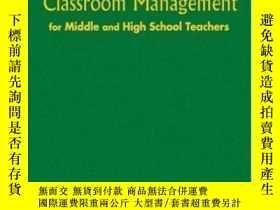 二手書博民逛書店Common-sense罕見Classroom Management For Middle And High Sc
