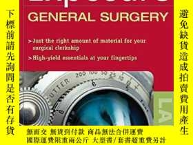 二手書博民逛書店First罕見Exposure To General SurgeryY364682 Jacobs, Danny