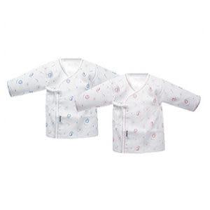 【奇買親子購物網】小獅王辛巴simba白竹纖紗布肚衣(70cm/60cm)藍/粉紅