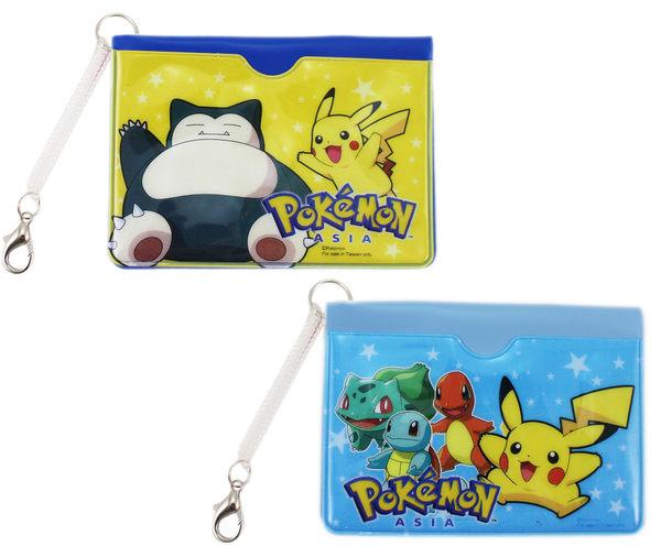 【卡漫城】 寶可夢 識別證卡套 二入一組 伸縮 ㊣版 皮卡丘 神奇寶貝 Pokemon 手機 掛繩 悠遊卡 卡片