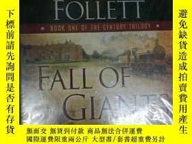 二手書博民逛書店Fall罕見of Giants巨人的隕落(有聲書 24CD 塑封)Y7957 Ken Follett Peng