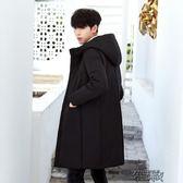 反季棉衣男士中長款加厚棉襖冬季大衣青少年韓版羽絨棉服冬天外套YYJ 街頭布衣