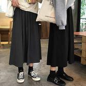 韓版chic高腰半身裙春季200斤胖MM加肥加大碼寬鬆顯瘦長裙子 潮人女鞋