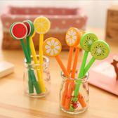 水果造型中性筆 西瓜檸檬奇異果橘子造型筆 學生獎品 禮贈品-艾發現