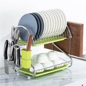 不鏽鋼瀝水架 碗架家用洗放碗碟盤子收納架廚房置物架控水放碗架