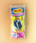 《一文百貨》康乃馨天然乳膠手套/8.5x10吋/黑色