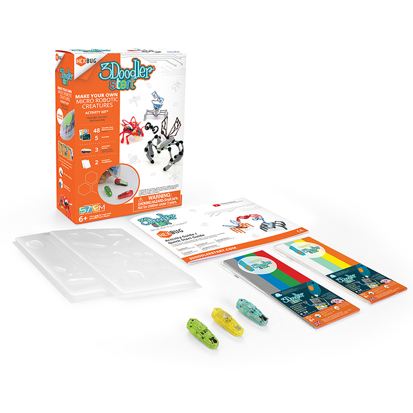 3Doodler Start 3D列印筆 跳跳昆蟲機器人套件(此套件內不含筆) ※台灣代理商※ ★絕對原廠★ 創意DIY