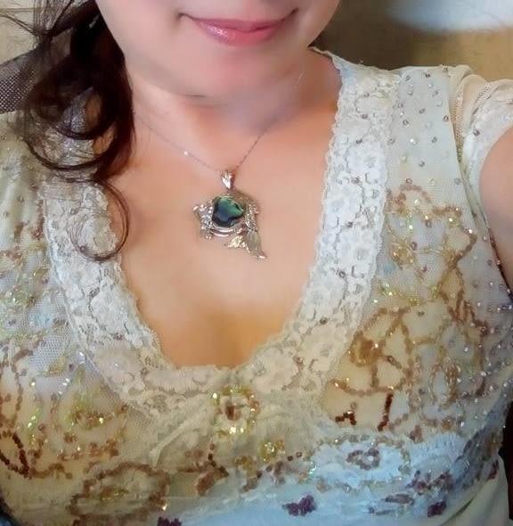 珍珠貝殼項鍊 Sabrina C.小魚兒