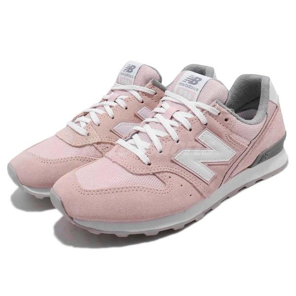 【五折特賣】New Balance 復古慢跑鞋 NB 996 粉紅 白 麂皮 寬楦頭 運動鞋 女鞋【ACS】 WR996ACPD