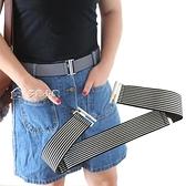 腰帶女士彈力可調節鬆緊腰帶簡約百搭牛仔褲懶人皮帶裙子束腰裝飾腰封 雙十一鉅惠