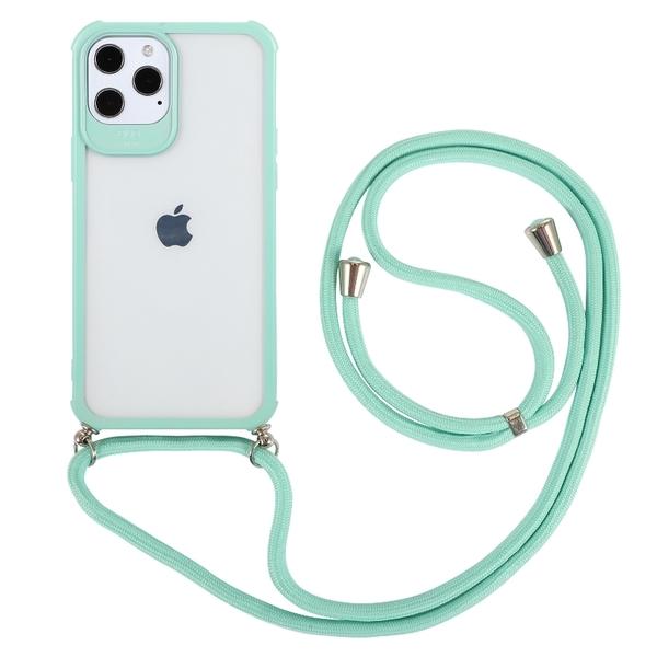 馬卡龍 四角防摔掛繩 斜背掛繩 防摔殼 iPhone 12 11 Pro Max XR Xs 7/8 SE2 蘋果 手機殼