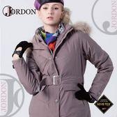 【JORDON 橋登 女 GORE-TEX二件式羽絨外套《芋灰》】1088/羽絨衣/防水外套