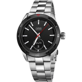 ORIS 豪利時 Artix GT Day-Date 賽車機械腕錶-黑x銀/42mm 0173576624424-0782187