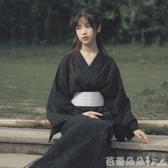 日本傳統型和服浴袍武士長袍男女情侶款萬圣節服裝日式浴衣cos「芭蕾朵朵」