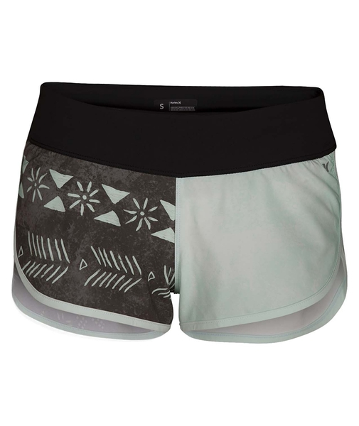 HURLEY|女 PHANTOM NATIVE BEACHRIDER 海灘褲-PHANTOM-綠