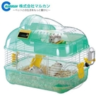 【培菓平價寵物網 】日本《MARUKAN》雙層計數 遊戲鼠窩M(兩種顏色可選擇)