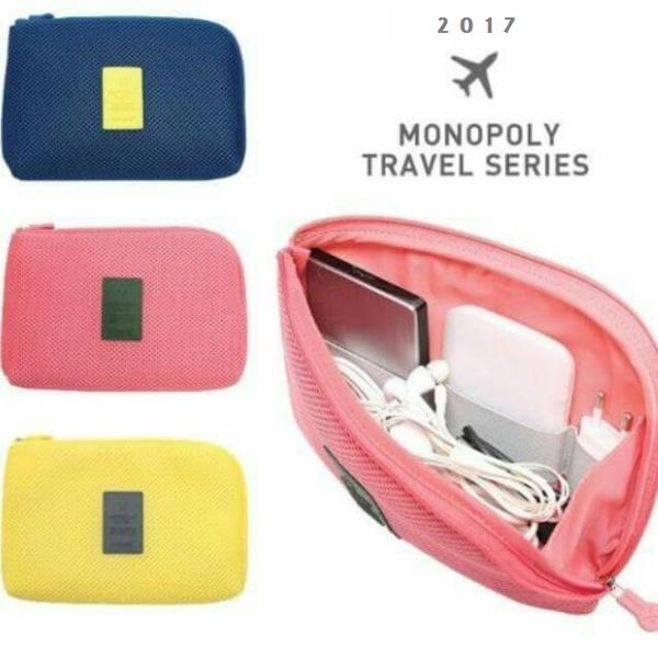 防震旅行收納包。 AngelNaNa  電子數碼 3C收納包 化妝包 (SBA0199)