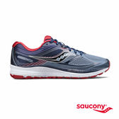 SAUCONY GUIDE 10 專業訓練鞋-灰x夜藍x紅