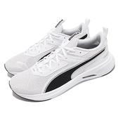 Puma 慢跑鞋 Scorch Runner 白 黑 男女鞋 舒適發泡鞋墊 運動鞋 【ACS】 19445904
