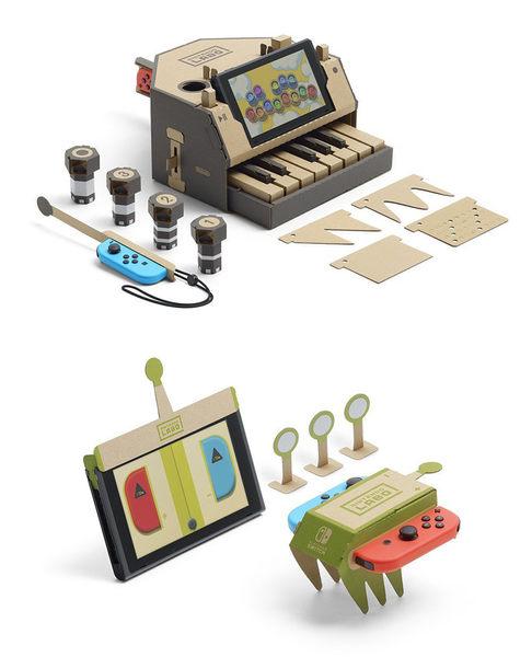 NS 任天堂實驗室 LABO 01 多彩套件 Variety Kit Toy-Con -英文日文日版- Switch
