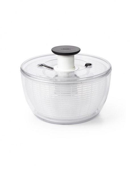 美國OXO 按壓式蔬菜香草脫水器 新版 (小白)