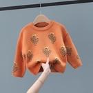 兒童毛衣 男童寶寶針織衫毛衣2019新款秋冬款正韓洋氣小童秋裝兒童上衣套頭