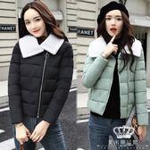 鋪棉外套 裝清倉羽絨外套女裝短款小棉襖時尚正韓 艾米潮品館