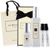 Jo Malone 黑莓子與月桂葉香水(30ml+9ml+1.5mlX2)贈品牌提袋