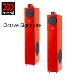 【竹北勝豐群音響】Morel Octave Signature 紅色 落地喇叭