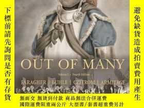 二手書博民逛書店Out罕見Of Many, Tlc Edition Volume I, Revised Printing (4th