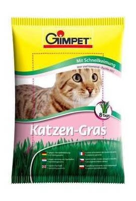 *~寵物FUN城市~*《德國竣寶GIMPET》速成胚芽貓草【袋裝100g】(貓零食,點心,寵物,駿寶)