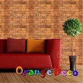 自黏壁紙【橘果設計】10米長 壁紙 磚紋風格 DIY組合壁貼 牆貼 壁紙 壁貼 室內設計 裝潢 壁貼