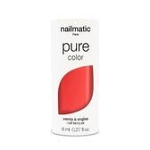 Nailmatic 純色生物基經典指甲油-SORIA-珊瑚橘紅 8ml