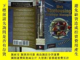 二手書博民逛書店WEB罕見WAREHOUSING AND KNOWLEDGE M