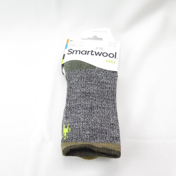 smartwool HIKE輕量減震徒步印花 美麗諾羊毛 中長襪 SW004066D11 橄綠【iSport愛運動】