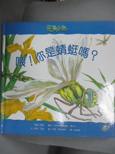 【書寶二手書T7/少年童書_JLQ】喂!你是蜻蜓嗎?_茱蒂‧艾倫